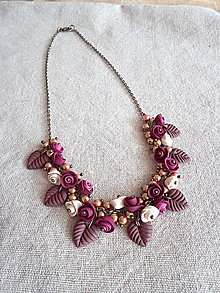 Náhrdelníky - ... poetic romance ... náhrdelník II. - 5187234_