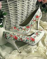 Obuv - Rozkvitla lúka topánočky - 5183339_