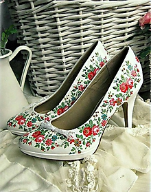 Obuv - Snow white shoes - 5183291_