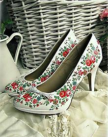 Obuv - Rozkvitla lúka topánočky - 5183291_