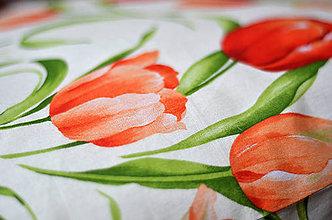 Úžitkový textil - Obrúsok Tulip -  alebo štóla - 5183239_
