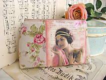 Taštičky - Kosmetická zipovka Slečna se stuhami - 5184205_
