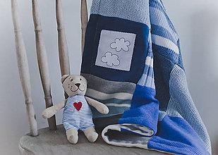 Úžitkový textil - Blue blue - 5187334_