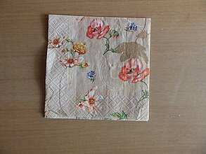 Papier - vlčie maky - 5185296_