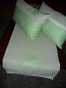 Úžitkový textil - Jarná nálada - obrus a vankúšiky - 5190807_