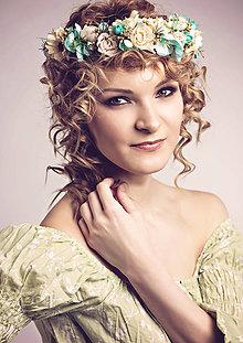 Ozdoby do vlasov - Kvety Atlantidy ... - 5188125_
