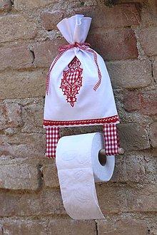 Úžitkový textil - Vôňa vidieku na toalete držiak - SRDIEČKO - 5190019_