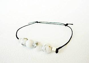 Šperky - Pánsky energický náramok s Magnezitom - 5188278_