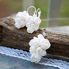 Sady šperkov - innocence - biela svadobná sada s príveskom - 5190463_