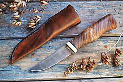 Nože - Damaškový nôž Zebrano - 5187559_