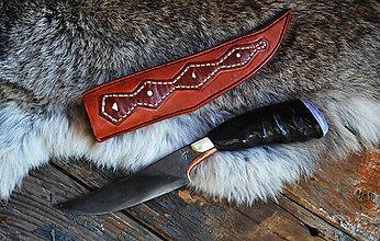 Nože - Autorský nôž Warrior - 5187562_