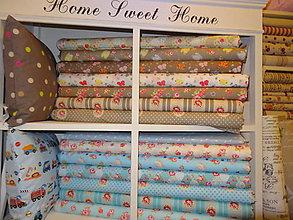 Textil - bavlnené látky -Francúzko -NOVINKY - 5187656_