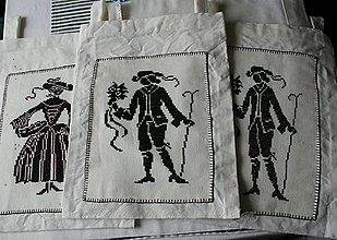 Úžitkový textil - chlapec  -  vrecko veľké - 5190137_