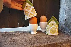 Dekorácie - kryt na vajíčka zelený - 5187711_