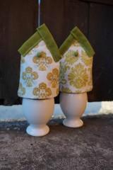 Dekorácie - kryt na vajíčka zelený - 5187716_