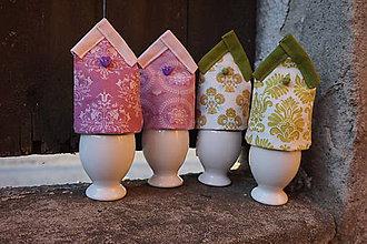 Dekorácie - kryt na vajíčka fialový - 5187751_