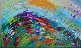 Obrazy - Vo vetre - 5190265_