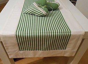 Úžitkový textil - štóla na stol 40 x 140 cm podšitá - 5194877_