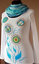 Tričká - Tričko s aplikáciami - Haky-baky - Bleu - 5194909_