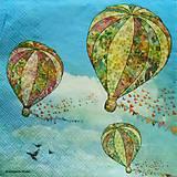 - S265 - Servítky - balóny - 5193695_