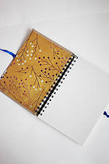 Papiernictvo - Denníček folk - A6 - 5192788_