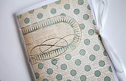 Papiernictvo - Na svadobné poznámky - A5 bodkovaný - 5192847_