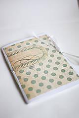 Papiernictvo - Na svadobné poznámky - A5 bodkovaný - 5192849_