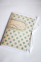 Papiernictvo - Na svadobné poznámky - A5 bodkovaný - 5192850_