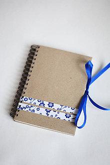 Papiernictvo - Denníček folk - A6 - 5192784_