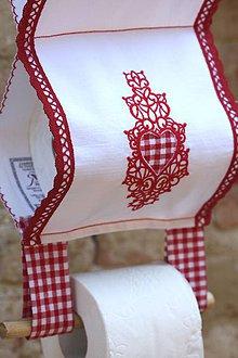 Úžitkový textil - Pre malý budárik :) 2v1 (zásobník aj držiak) - 5191792_