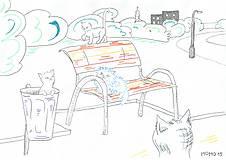 Obrázky - Mačiatka a park - 5194375_