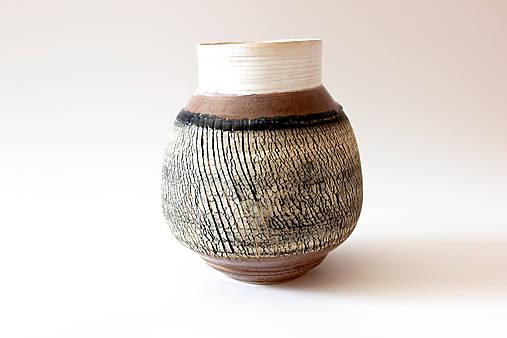 Dekorácie - Váza Zeme-guľa - 5191823_