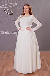 Sukne - svadobná suknička  - 5193169_