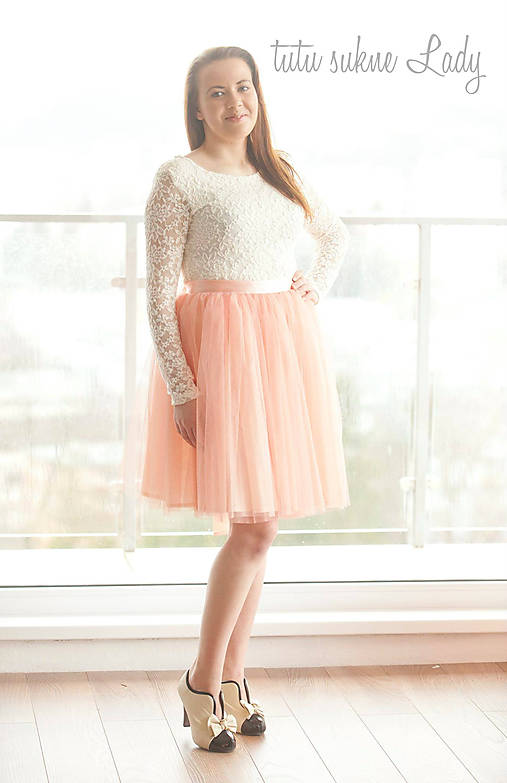 8b67b95159df Svadobná tutu sukňa   LadyDK - SAShE.sk - Handmade Sukne
