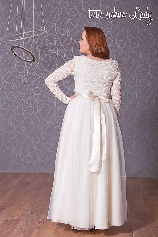 701232f2bac3 Svadobná suknička   LadyDK - SAShE.sk - Handmade Sukne