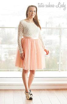 Sukne - svadobná tutu sukňa - 5193065_