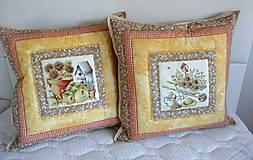 Úžitkový textil - Vankúše na chalupu alebo záhradu - 5194834_