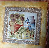 Úžitkový textil - Vankúše na chalupu alebo záhradu - 5194835_