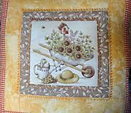 Úžitkový textil - Vankúše na chalupu alebo záhradu - 5194836_