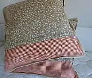 Úžitkový textil - Vankúše na chalupu alebo záhradu - 5194837_