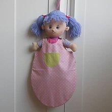 Hračky - Spací vak pre bábiku - 5199533_