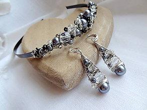 Sady šperkov - čaro noci...set - 5195831_