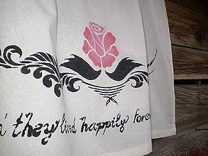 Úžitkový textil - Záclonka z rozprávky - 5198301_