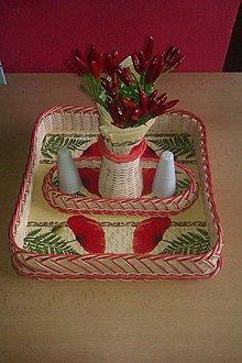 Košíky - Súprava do kuchyne pre Anku - 5196198_