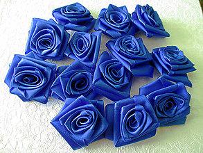 Kytice pre nevestu - saténové ružičky - 5198869_
