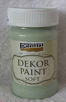 Farby-laky - Dekor Paint Soft 100ml- country zelená - 5196024_