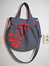 Veľké tašky - Grey888/3 - stredne veľká taška - 5198331_