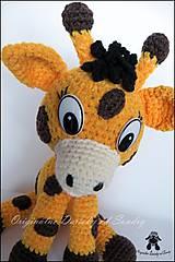 Návody a literatúra - žirafka EMILKA ... návod - 5202173_