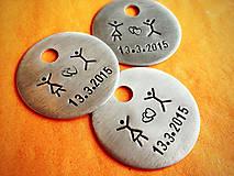 Kľúčenky - ..svadobne :) / cena za 1ks - 5201904_