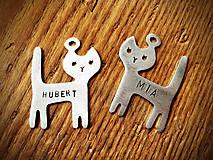 Kľúčenky - cica a cico - 5201956_